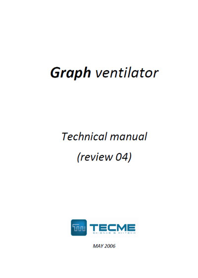Техническая документация Technical Documentation/Manual на Graph ventilator review 04 [Tecme]