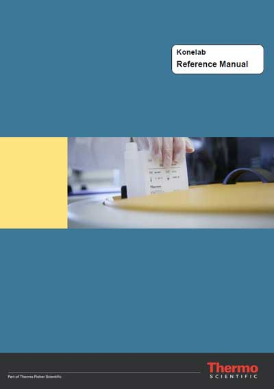 Справочные материалы Reference manual на Konelab (DPC T Series) [Thermo]