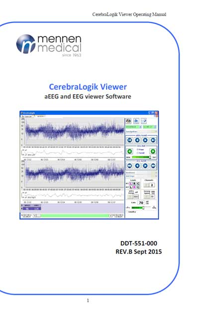 Инструкция пользователя, User manual на Диагностика CerebraLogik Viewer  aEEG and EEG viewer Software